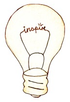 Inspiration light bulb