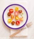 Plated Heirloom Tomatoes