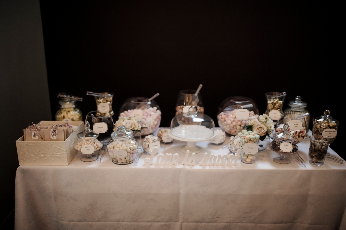 create a candy bar for your wedding guests two loves studio